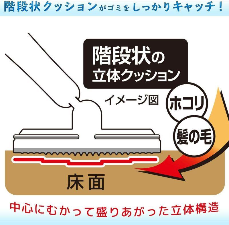 激落ち ぞうきんもセットできる フローリングワイパー ぞうきん1枚付 伸縮タイプ