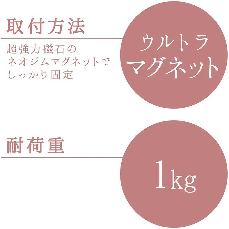 局面使用可能な ウルトラマグネット タオル掛け 干し幅20cm(全長24cm)