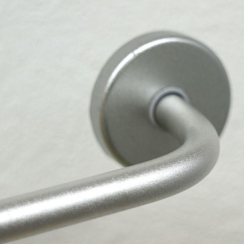 アルミタオル掛け 木ネジ+アンカータイプ 干し幅35cm(全長40cm)