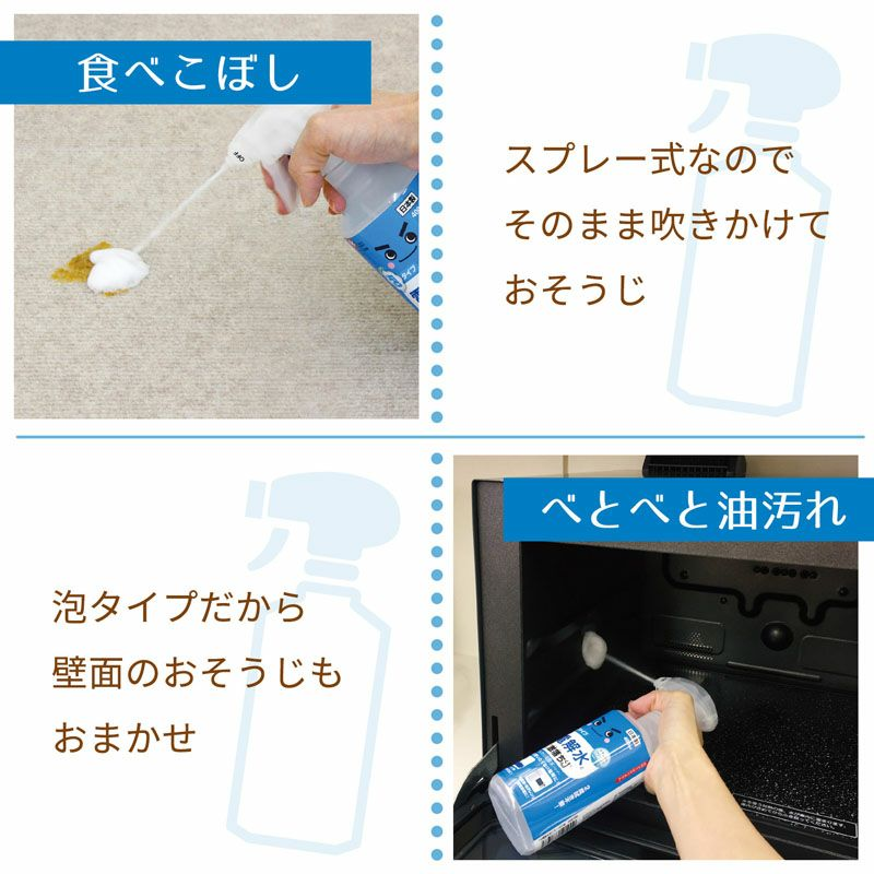 激落ち 電解水 泡スプレー 詰替え用 360ml