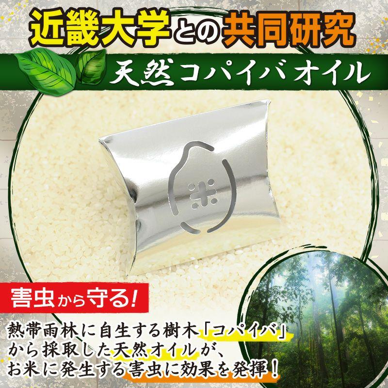米びつくん 銀の小箱 10kg用