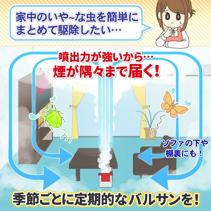 バルサン 火を使わない 水タイプ 6~8畳用 3個パック