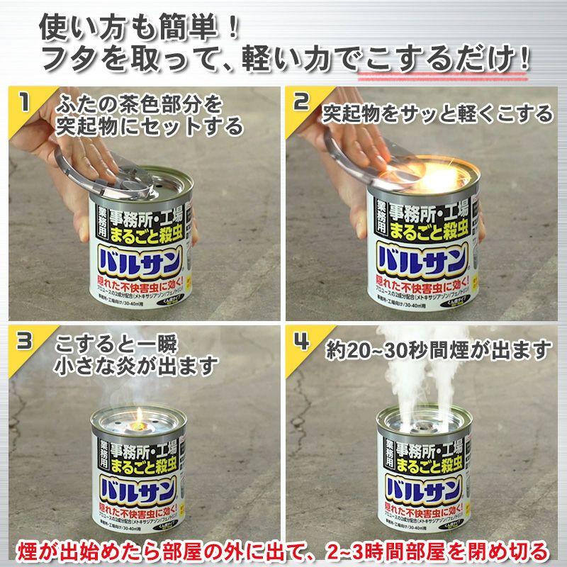 業務用バルサン 事務所 工場 まるごと殺虫 20~26平米用 1個