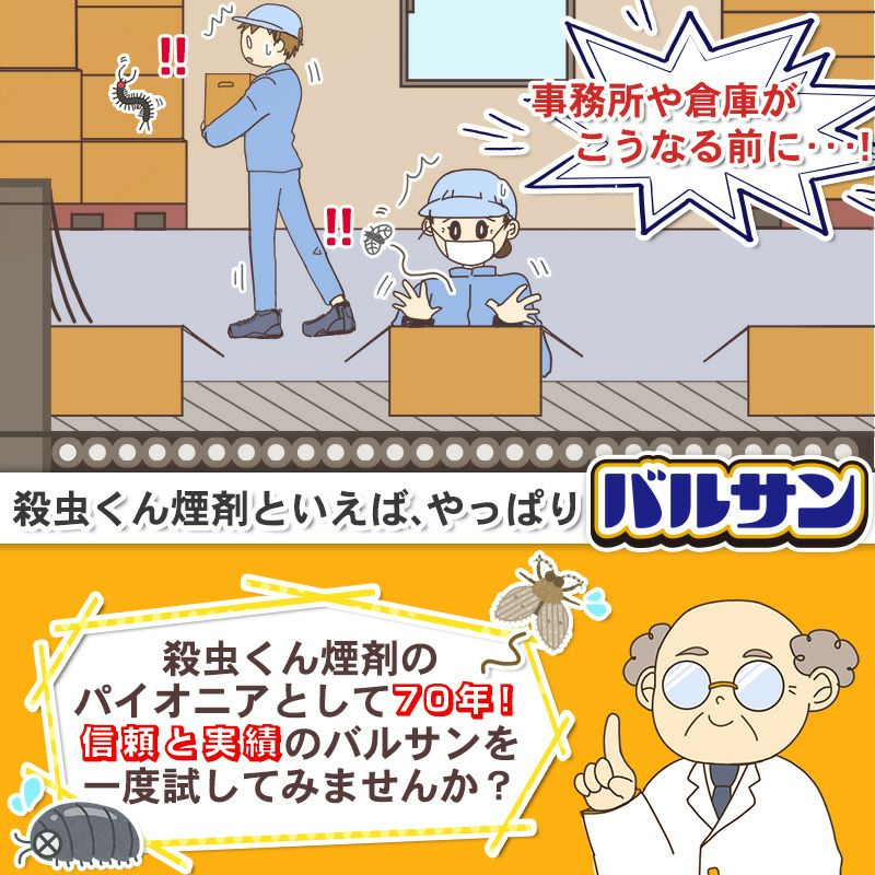 業務用バルサン 事務所 工場 まるごと殺虫 40~50平米用 1個