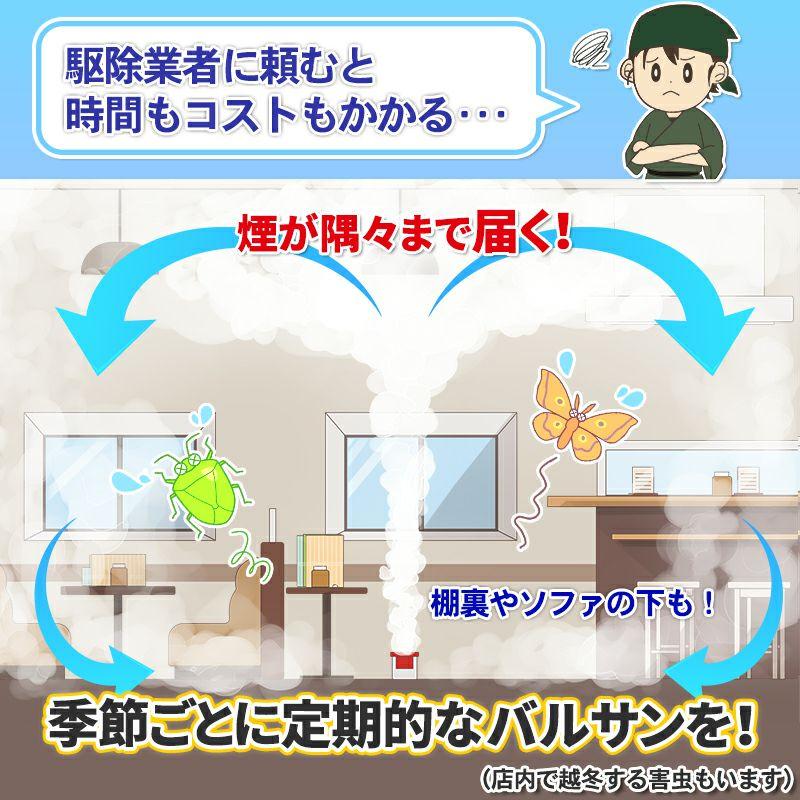 業務用バルサン 飲食店 まるごと殺虫 20~26平米用 3個